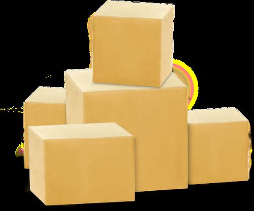 Grafik des Stapels der Pakete von 2pack's in Allgäu